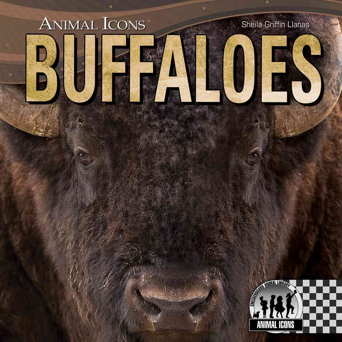 Buffaloes By Llanas, Sheila Griffin